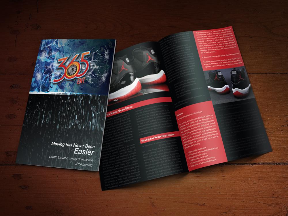 Custom Brochure Design for 365 ENT