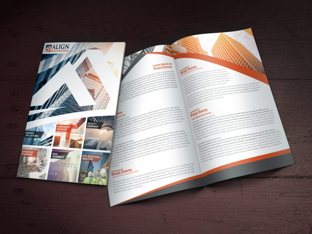 Custom Brochure Design for Align Reality Solutions