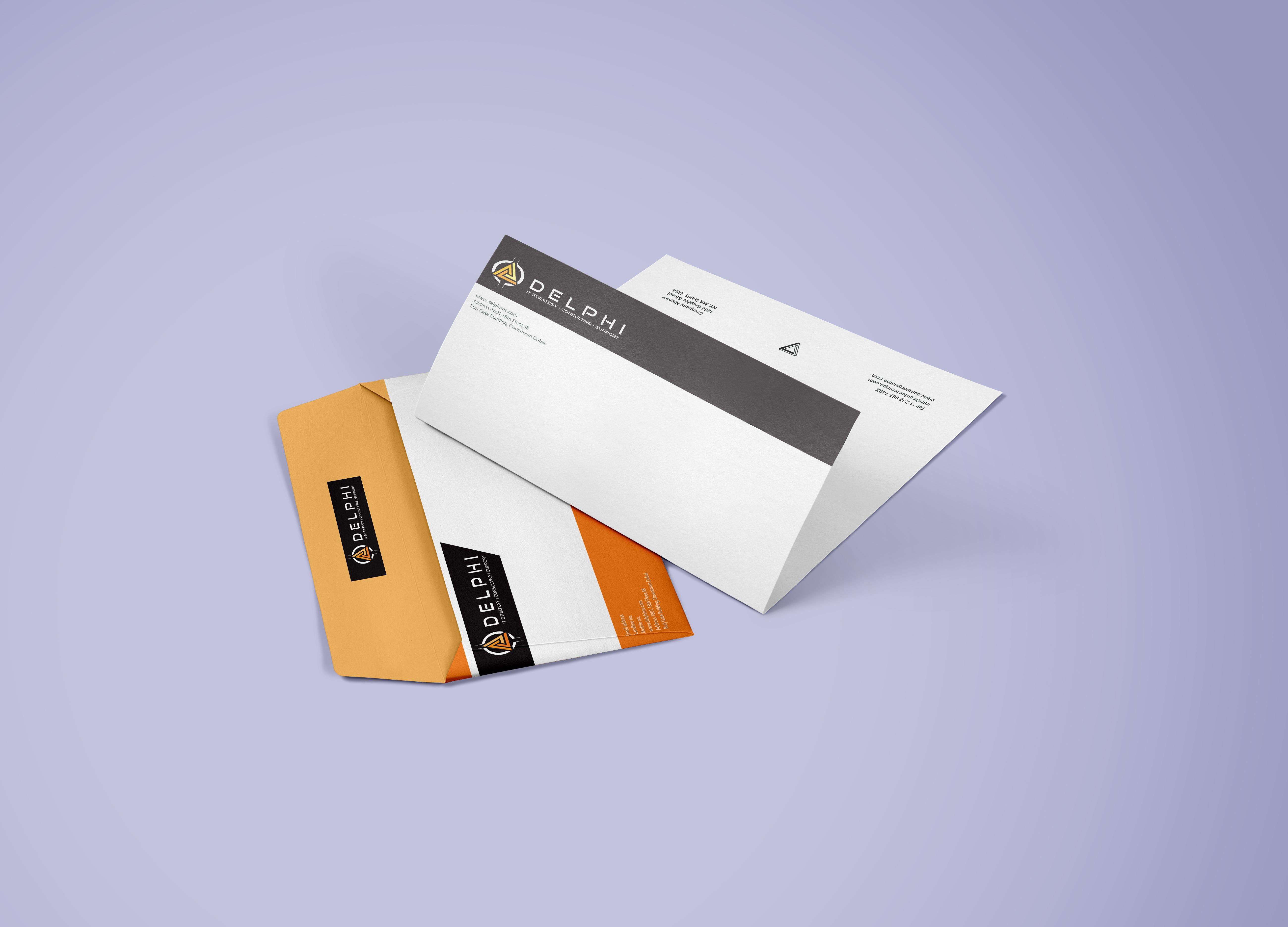 Business Card Design for Delphi - Logo Design Deck