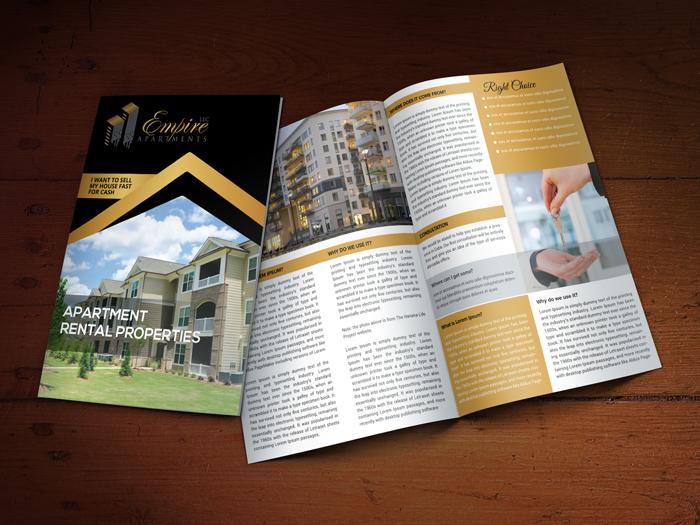 Custom Brochure Design for Empire Apartments