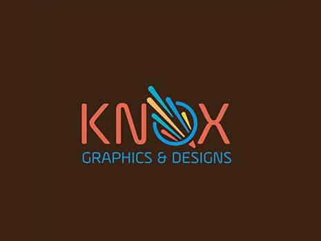 Custom Logo Design for Knox Graphics & Design