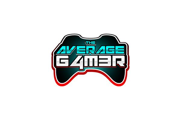 Custom Logo Design for The Average Gamer