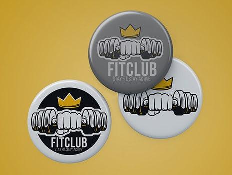 Fit Club Badge